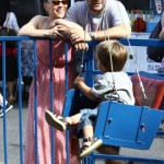 Alyssa Milano: Farmers Market Day With Family
