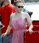 Alyssa Milano Out with Her Family at the Farmer's Market