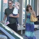 Amy Adams: Busy Day Out With Family