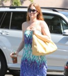 Amy Adams And Family Having A Busy Afternoon