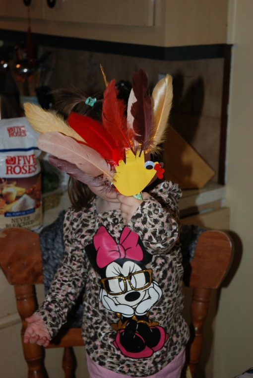 ThanksGiving Craft With Ava