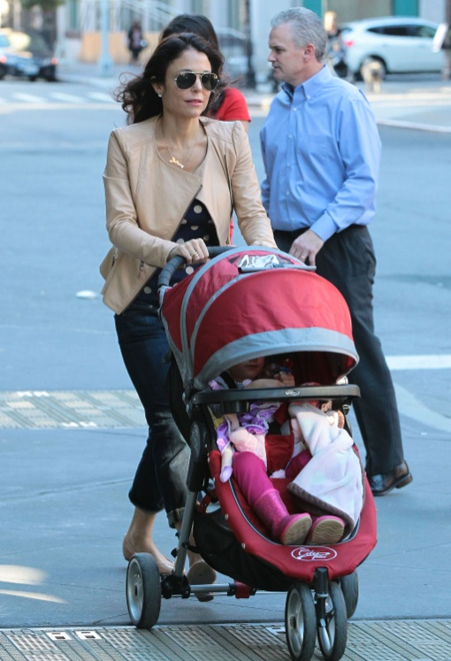 Bethenny Frankel Takes Bryn Out For A Stroll