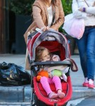 Bethenny Frankel Takes Daughter Bryn On A Walk In New York