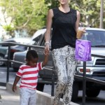 Charlize Theron: Coffee Run With Jackson