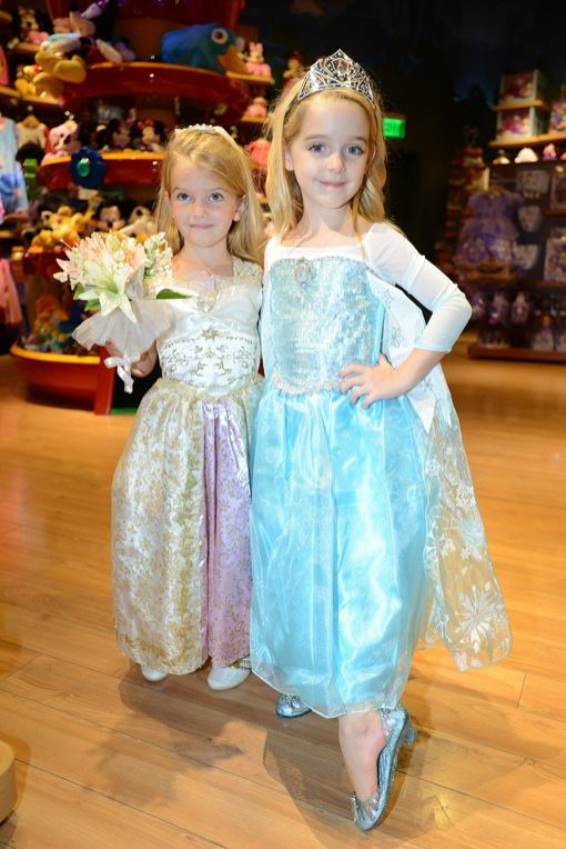 Celeb Parents Attend the Halloween BOOtique Event at the Disney Store