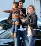 Ellen Pompeo & Family Out For Dinner In New York