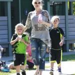 Gwen Stefani: Sunday Park Day With Kingston & Zuma