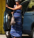Pregnant Halle Berry Takes Nahla To Aahs!