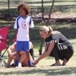 Heidi Klum: Family Soccer Day