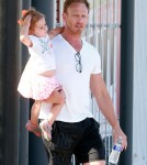Exclusive... Ian Ziering Goes Shopping With His Family
