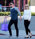 Pregnant Jaime King & Kyle Newman Shopping On Melrose