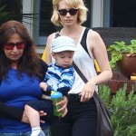 January Jones Steps Out With Xander