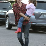 Jennifer Garner Spend Quality Time With Her Party-Goers