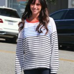 Jennifer Love Hewitt Does Some Pregnancy Pampering!