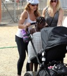 Jillian Michaels & Lukensia Enjoy The Malibu Chili Cook-Off