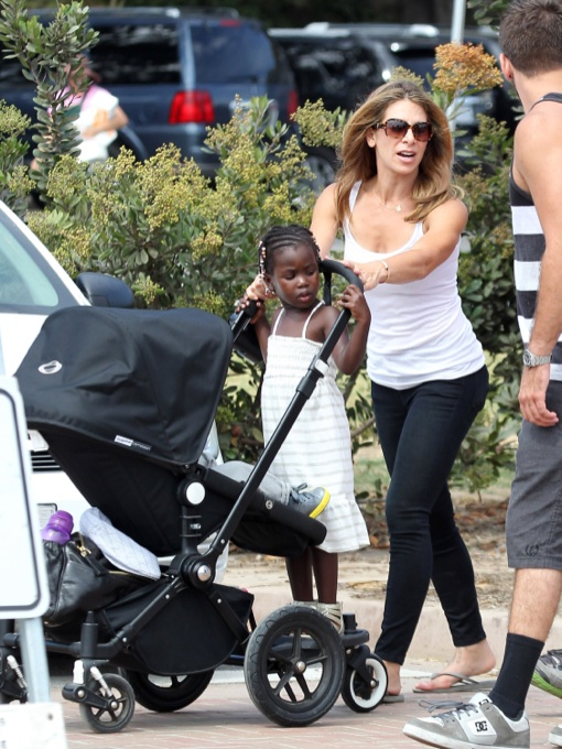 Jillian Michaels: Malibu Cook-Off With Her Babies
