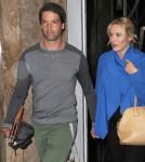 Pregnant Kate Winslet & Ned Rocknroll Leave Claridges Hotel