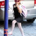 Suri Cruise: Pink Accessory Fashionista