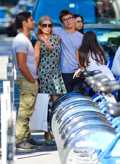 Kelly Ripa: Family Day in the City