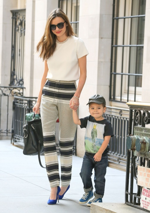 Miranda Kerr: Chic Mommy in the City