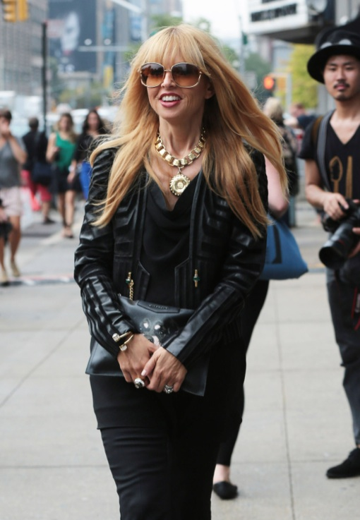 Rachel Zoe Out And About In NYC