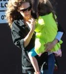 Sarah Jessica Parker Walks Her Daughters To School