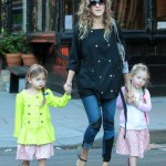 Sarah Jessica Parker Makes The Daily School Run With Her Girls