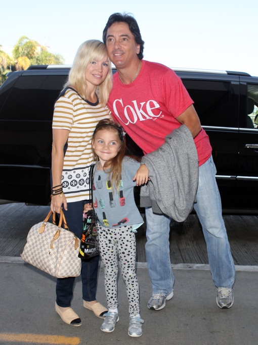 Scott Baio: LAX Family Portrait
