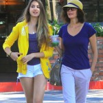 Teri Hatcher: Lunch Date With Daughter Emerson