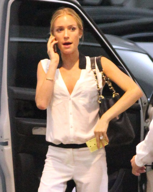Kristin Cavallari At The Soho House In West Hollywood