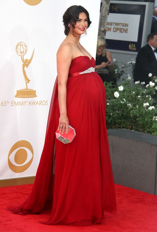 Homeland Star Morena Baccarin Gave Birth To A Boy