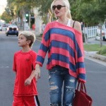 Gwen Stefani & Family: Saturday Party Day