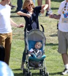 Exclusive... Reese Witherspoon & Family Attend The Fair In Brentwood