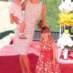 Alessandra Ambrosio: Polo Match With Her Babies