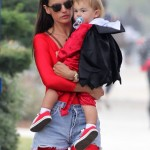 Alessandra Ambrosio Enjoys a Day With Her Little Devils