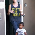 Charlize Theron: Errand Day With Jackson