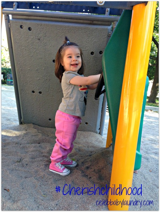 #Cherishchildhood Gymboree - Ava at the Park Driving
