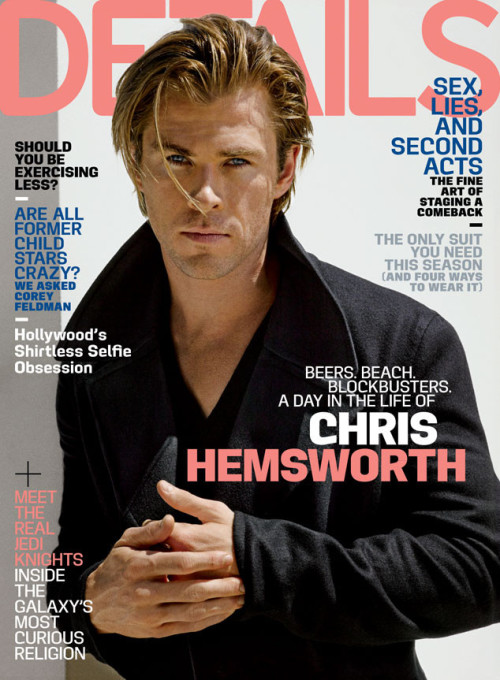 Chris Hemsworth Details Magazine