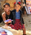 - Los Angeles, CA - 10/11/2013 - Christina Milian and daughter Violet helped Pillsbury make Halloween sweet at Mr. Bones Pumpkin Patch.-PICTURED:  Christina Milian with daughter Violet-PHOTO by: Michael Simon/startraksphoto.com-MS_165578Editorial - Rights Managed Image - Please contact www.startraksphoto.com for licensing fee Startraks PhotoStartraks PhotoNew York, NY For licensing please call 212-414-9464 or email sales@startraksphoto.com