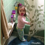 The Ever Evolving Bath Time: From Newborn To Toddlerhood #DisneyBaby