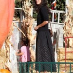 Emma Heming Takes Her Pumpkin To The Patch