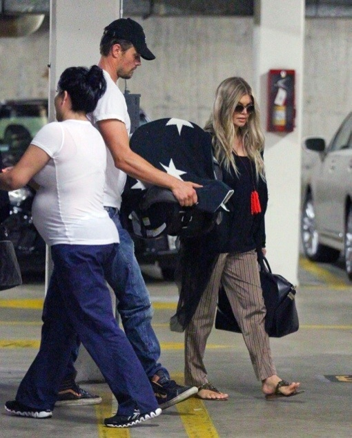 Fergie & Josh Duhamel Take Axl For a Check-Up