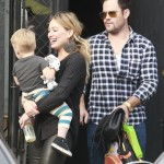 Hilary Duff & Family: Saturday Lunch Date