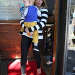 Hilary Duff: Trendy Family Lunch Date