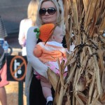 Holly Madison: First Pumpkin Patch Visit With Rainbow