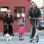 Hugh Jackman: Family Scooter Day