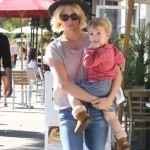 January Jones: Baby Class With Xander