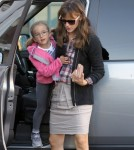 Jennifer Garner Takes Seraphina To Breakfast