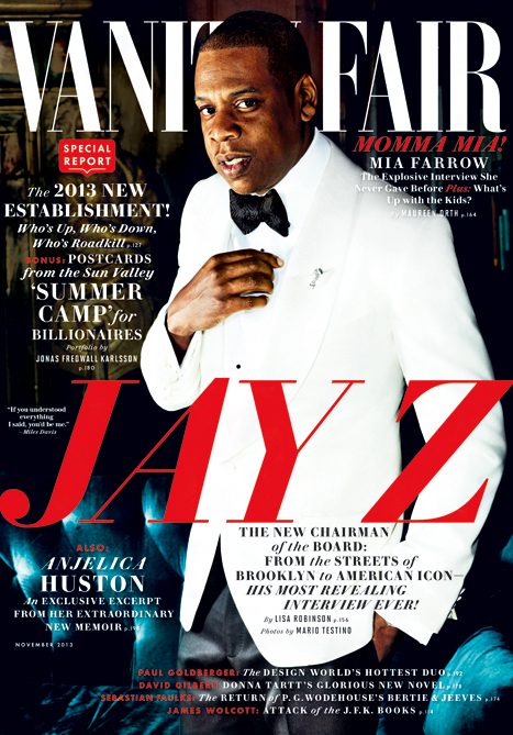 Jay-Z Covers Vanity Fair