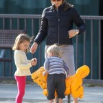 Jennifer Garner: Park Date WIth The Kids